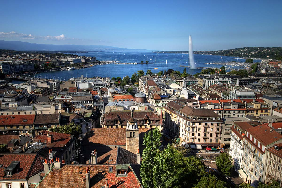 Hotels Geneva Switzerland City Centre